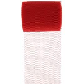 Rouleau de tulle rouge 80 mm x 10 M