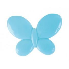 Perle papillon turquoise les 12