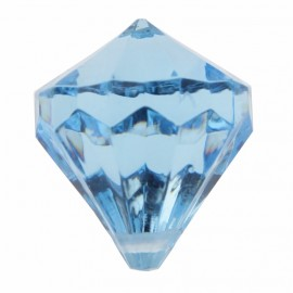 Perle pampille diamant turquoise les 6