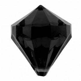 Perle pampille diamant noir les 6