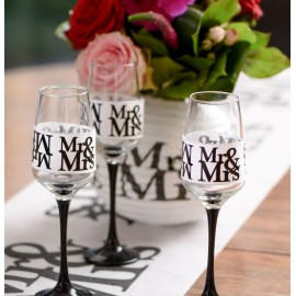 Ruban mariage Mr & Mrs 40 mm x 5 M