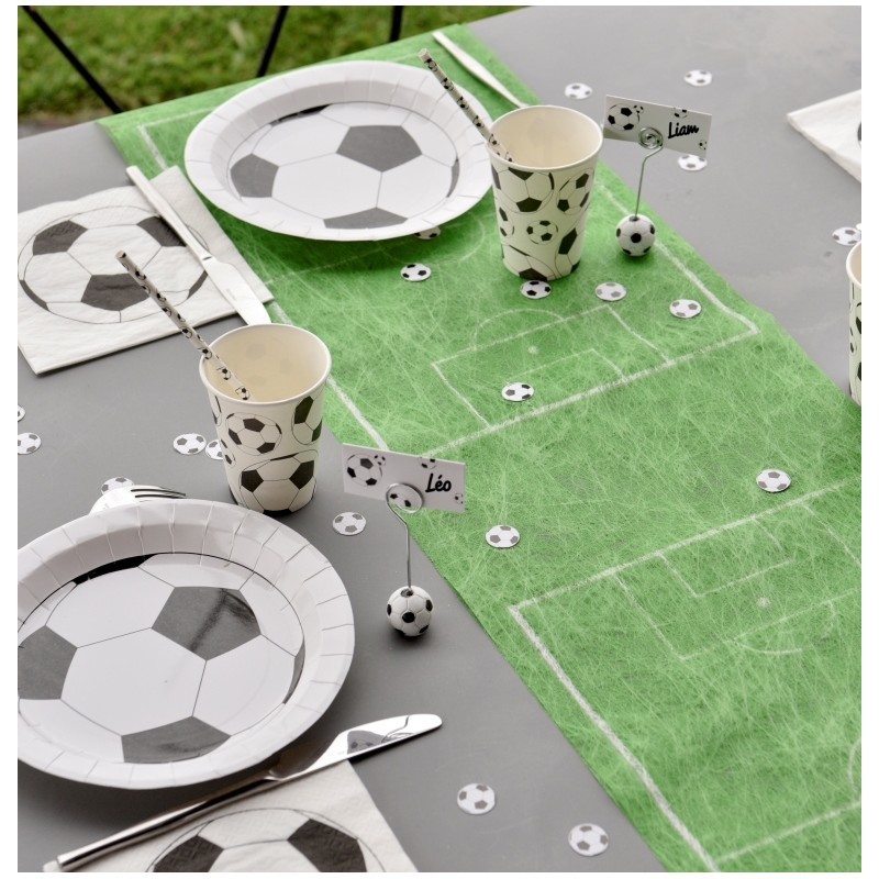 Chemin de table football en intiss 5 m achat chemins de - Set de table intisse ...