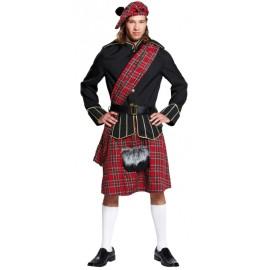 Déguisement écossais homme luxe