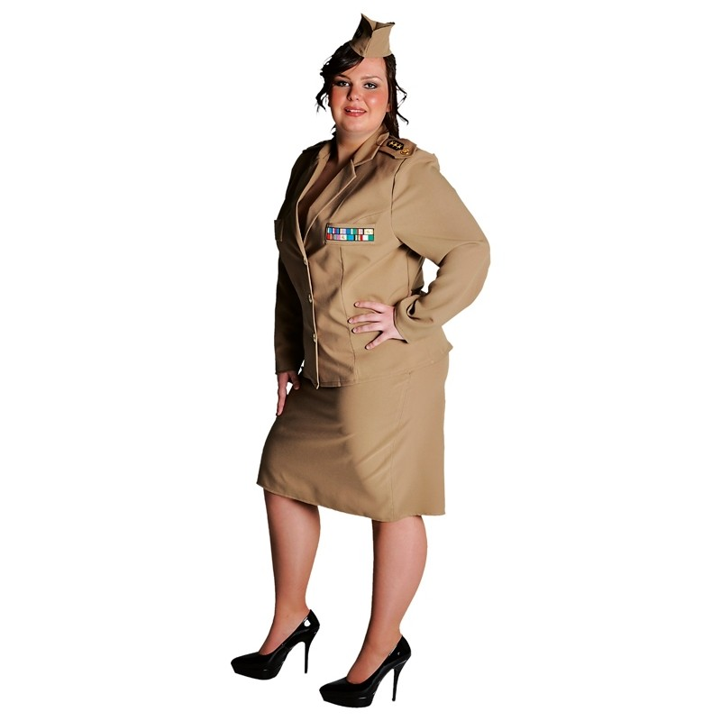 d guisement militaire 1940 39 s femme grande taille. Black Bedroom Furniture Sets. Home Design Ideas