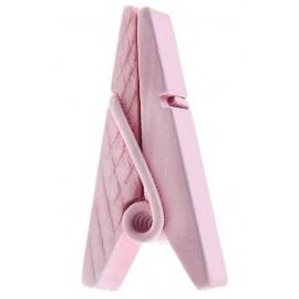 Pince pyramide rose en bois les 12