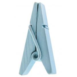 Pince pyramide bleu ciel en bois les 12