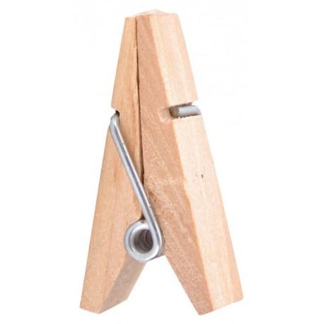 Pince pyramide en bois naturel les 12