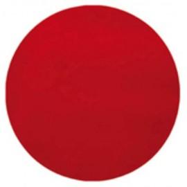 Set de table rond intissé rouge 34 cm les 10