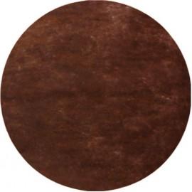 Set de table rond intissé chocolat 34 cm les 10