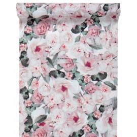 Chemin de table bucolique en tissu 5 M