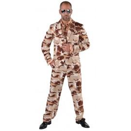 Déguisement costume militaire homme luxe