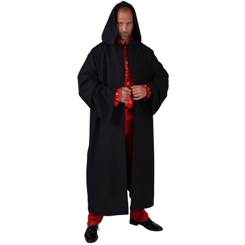 d guisement manteau long noir homme d guisements manteau noir adulte. Black Bedroom Furniture Sets. Home Design Ideas
