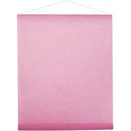 Tenture de salle intissé rose 8 M