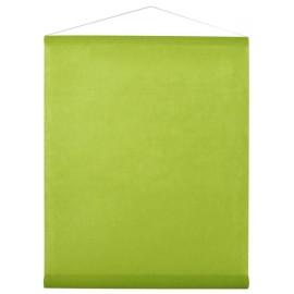 Tenture de salle intissé vert anis 8 M