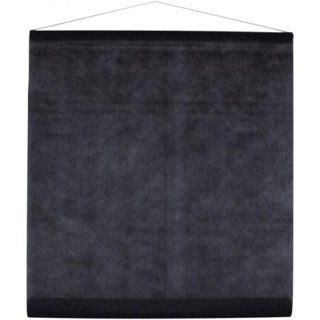 Tenture de salle intissé noir 8 M