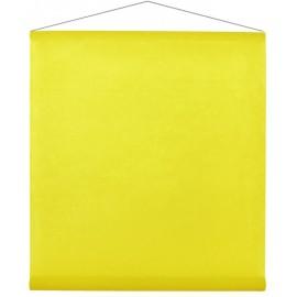 Tenture de salle intissé jaune 12 M