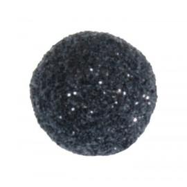 Mini boules pailletées noires les 50