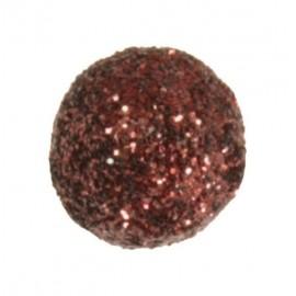 Mini boules pailletées chocolat les 50