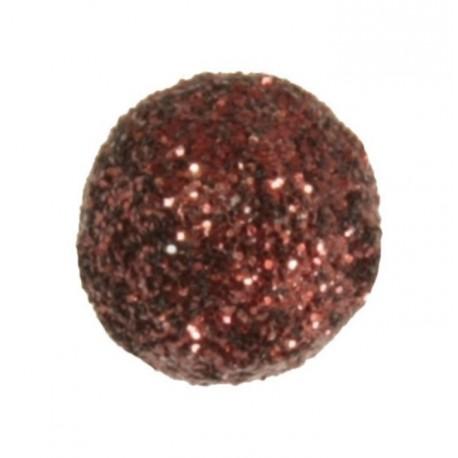 Mini boule pailletée chocolat les 50