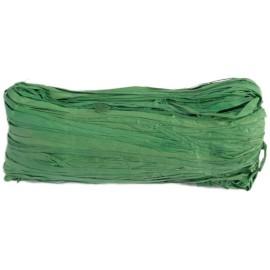 Raphia naturel vert sapin pelote 50 g