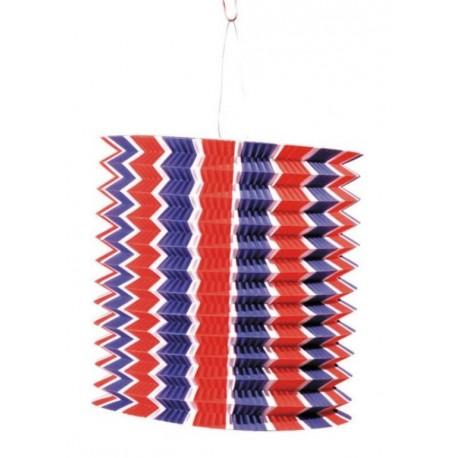 lampion bleu blanc rouge papier lampion tricolore lanterne 14 juillet. Black Bedroom Furniture Sets. Home Design Ideas
