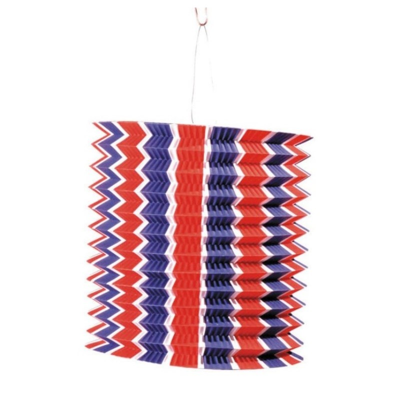 lampion bleu blanc rouge papier lampion tricolore lanterne 14 juillet. Black Bedroom Furniture Sets. Home Design Ideas