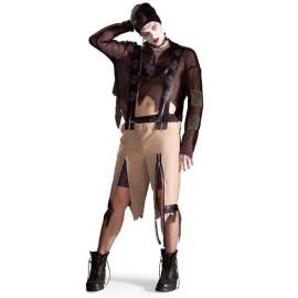 Déguisement gothique zombie homme
