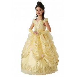 Déguisement Belle Disney™ fille princesse Edition limitée luxe