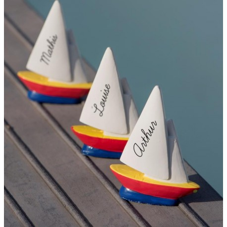 Marque-place bateau voilier les 2