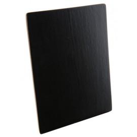 Marque table ardoise en bois 12 cm