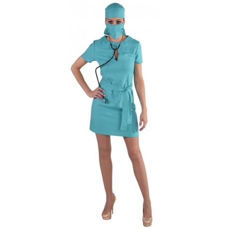 Déguisement chirurgien femme luxe