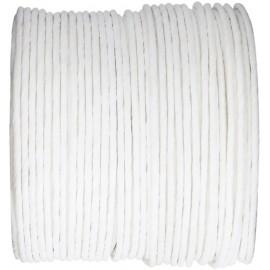 Cordon papier blanc laitonné 20 M Paper cord
