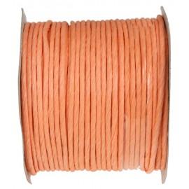 Cordon papier corail laitonné 20 M Paper cord