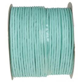 Cordon papier menthe laitonné 20 M Paper cord