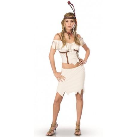 Déguisement indienne Pocahontas femme Indienne sexy