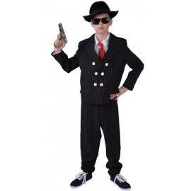 Déguisement gangster garçon luxe