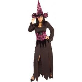 Déguisement sorcière élégante femme
