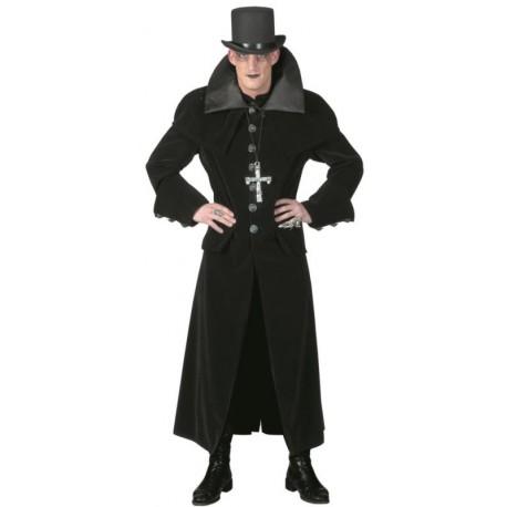 Déguisement manteau gothique homme