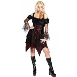 Déguisement reine gothique femme