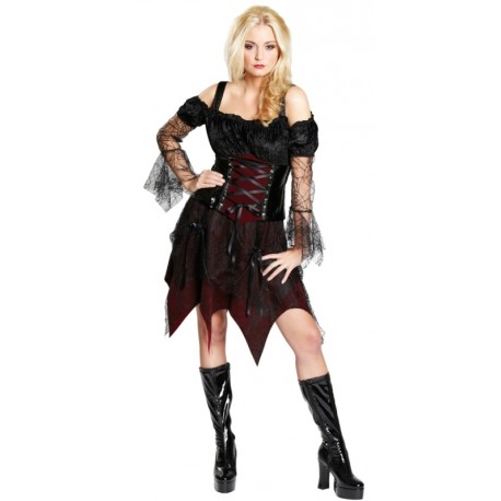 d guisement reine gothique femme d guisements adulte halloween vampire. Black Bedroom Furniture Sets. Home Design Ideas
