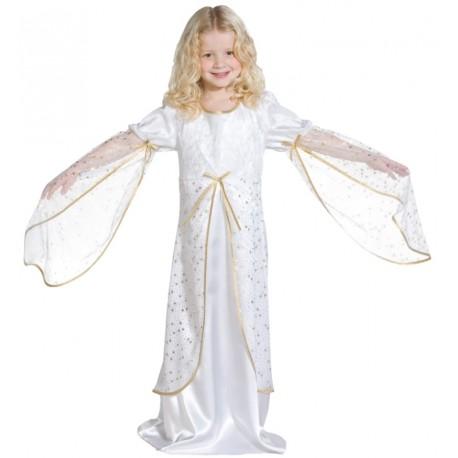 Déguisement ange blanc fille   Déguisement ange enfant ange fille Noël 74a9ae41dc53