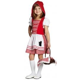 Déguisement chaperon rouge fille