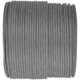 Cordon papier gris laitonné 20 M