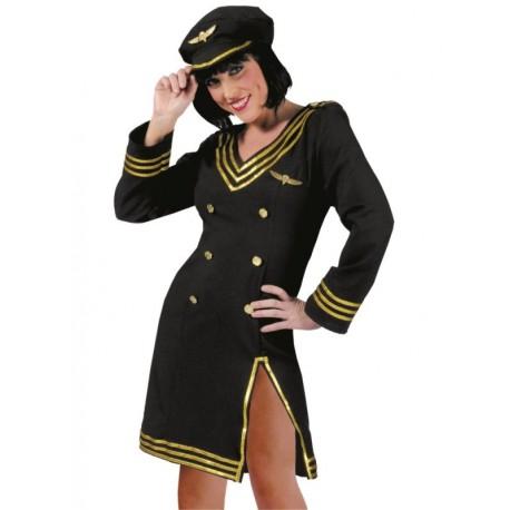 Déguisement pilote de ligne femme sexy