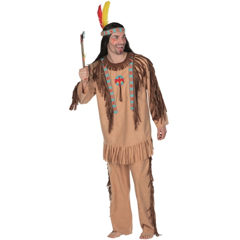 d guisement indien cherokee homme d guisements indien adulte western. Black Bedroom Furniture Sets. Home Design Ideas