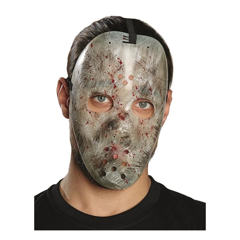 Masque hockey horreur adulte halloween masque hockey ensanglant - Masque halloween horreur ...