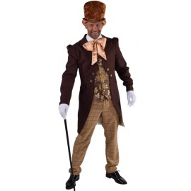 Déguisement Maître Victorien homme 1800-1900 luxe