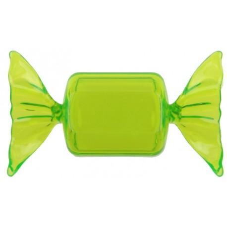 Boîte à dragées Bonbon vert anis les 4