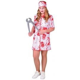 Déguisement infirmière ensanglantée fille Bloody luxe