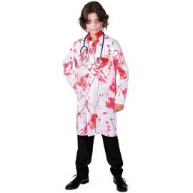Déguisement docteur ensanglanté garçon Bloody luxe